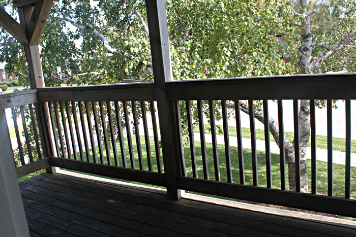 Aurora Heights Apartments private balcony